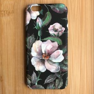 NEW Iphone 6/6s Floral Flowers Green Case